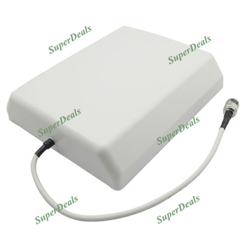 ZQTMAX Indoor Directional Panel Antenna For Cell Phone Signal Booster 806-2700MHz 850 900 1800 2100 2600 Repeater
