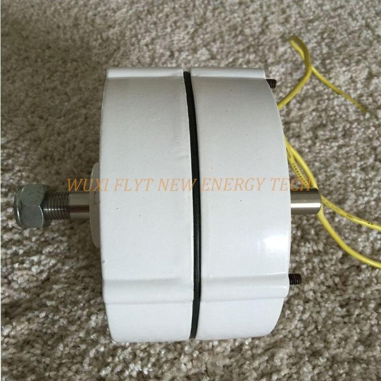 Alternateur de générateur d'aimant permanent à ca de 200ws 12 v pour la mini éolienne