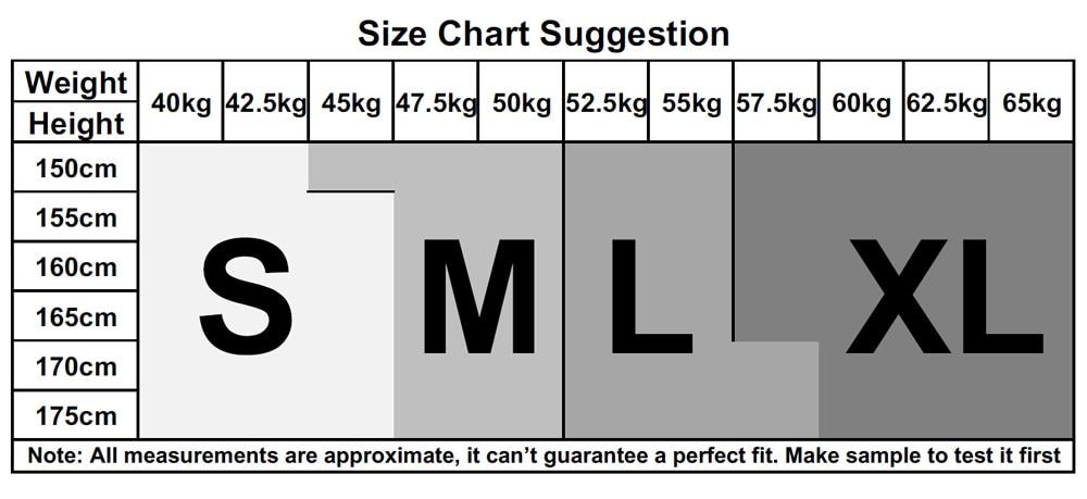 (2)Size Chart