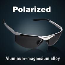 2019 New Fashion Aluminum Magnesium Alloy Polarized Sunglasses For Men Male Car Driving Sun Glasses Multicolor Coating Lenses