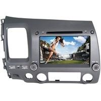 8 HD 1024*600 Quad Core Android 6.0 Car DVD Radio GPS Navigation Player for Honda Civic 2006 2007 2008 2009 2010 2011 DVR WIFI
