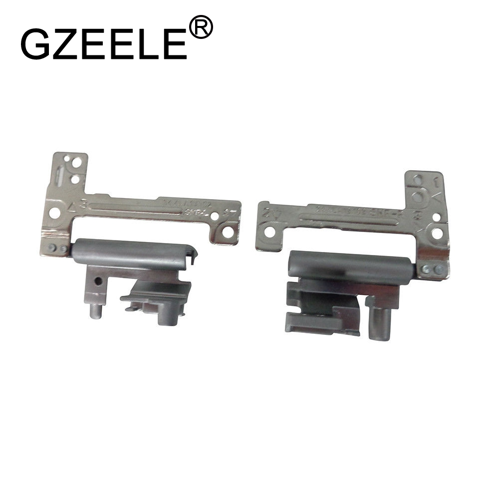 GZEELE NEW For DELL Vostro 131 V131 E3330 3330 Series Laptop LCD Hinges Left Right Silver Hinge Notebook PN: VD9H2 0VD9H2 0J6P8