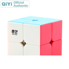 QiYi QiDi S 2x2x2 Magic Cube XMD 2x2 Cubo Magico Professional Neo Speed Puzzle Antistress Fidget Toys For Children