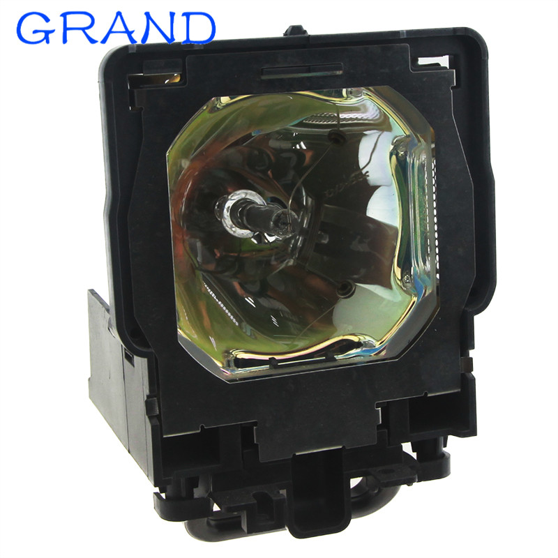 Compatible Projector Lamp 610 334 6267 / POA-LMP109 for PLC-XF47 PLC-XF47K PLC-XF47W PLC-XF4700 with Housing happybate compatible projector lamp eiki 610 334 6267 poa lmp109 lc xt5d lc xt5ai
