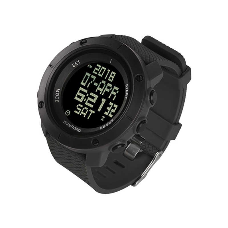 SUNROAD montres de sport numériques pour hommes-course à pied natation randonnée escalade Reloj étanche chronomètre montres-bracelets chronomètre minuteur