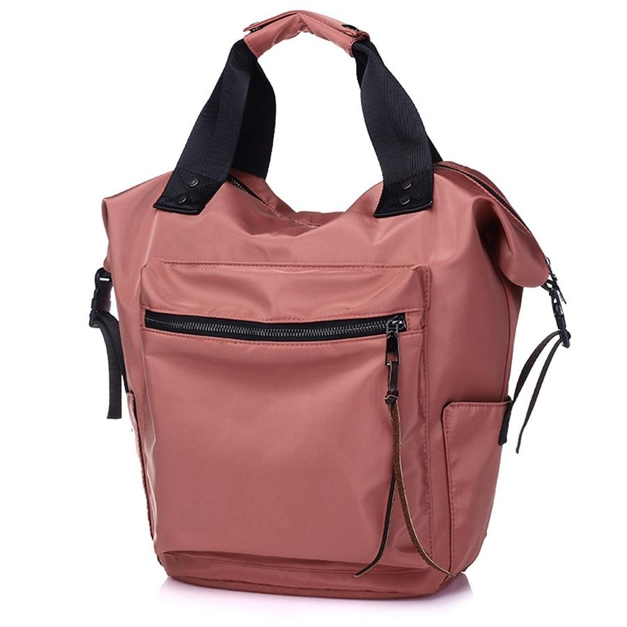 2018 Mochila de Nylon mujeres Casual mochilas para damas de alta capacidad a bolso de la Escuela de chicas adolescentes estudiantes de viaje Mochila Bolsa