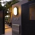 LukLoy светодиодный настенный светильник наружный водонепроницаемый светодиодный настенный светильник простой современный внутренний двор ...