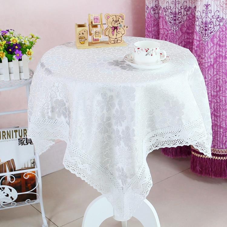 الأوروبية عالية الجودة الشاي الجدول القماش الصغيرة جولة سماط مستطيلة زهرة برعم ماء المنزل حفل زفاف الديكور