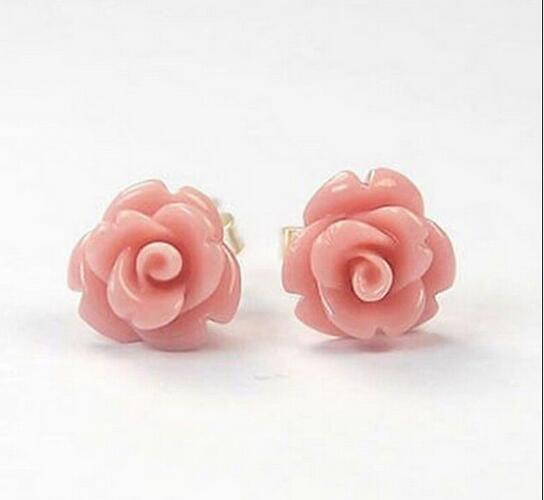 5ZHAO select colour Mother Pearl Shell Pink Rose Flower ...