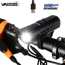 6 mode USB Rechargeable MTB Bike Light for Outdoor Night Riding Bicycle Headlight Torch