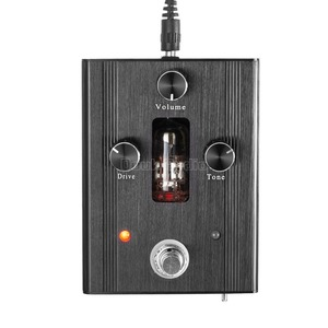 Image 3 - Pouco urso g3 6n4 j tubo de vácuo guitarra baixo overdrive drive ganho pedal stomp effector amplificador
