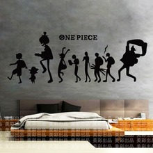 One Piece Sticker Poster Cartoon Wall Stickers Wall Decors Decal Wall Paper Home Decoration CP001