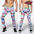 Mens jogges Fitness Pants3D Printed  Pattern Compression Tights Pants Male Elastic Sweatpants Skinny Leggings Trousers