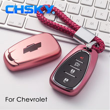CHSKY TPU Car Key Cover For Chevrolet Cruze Spark Sonic Camaro Car Key Covers Shell Case keychain Car Cover Styling Accessories(China)