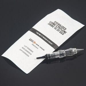 Image 2 - 10pcs Permanent Makeup Screw Cartridge 1RL Needles For Black Pearl PMU Machine