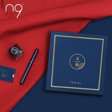 Free shipping N9 Chinese Style Tai Chi Iridium nib Pen Business Men Signature Pen Fountain Pen