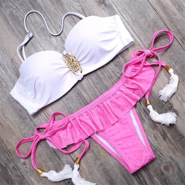 BANDEA summer Push Up Bikini Beach Swimwear Ladies swimsuit women swimsuit bathing suit bikini brazilian maillot de bain HA824