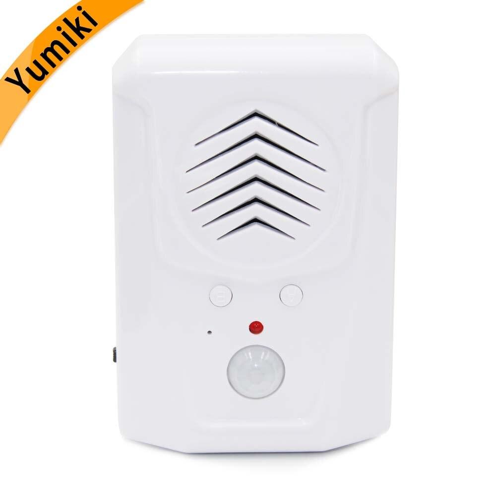 Sensor Motion Door Bell Switch MP3 Infrared Doorbell Wireless PIR Motion Sensor Voice Prompter Welcome Door Bell Entry Alarm Z3