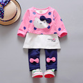 Baby Girl Clothes 2016 Spring Fashion Newborn Baby Girls Clothes Set 3-24M Cotton Full Sleeve Clothing Roupa De Bebe