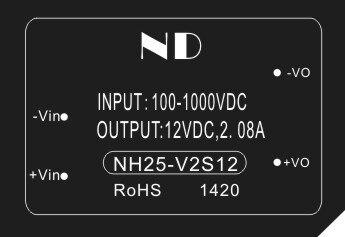 1pcs dc dc step down converter 800V 1000V to 12V 2a  PV power module quality goods ароматизатор воздуха chupa chups арбуз подвесной двойная пропитка