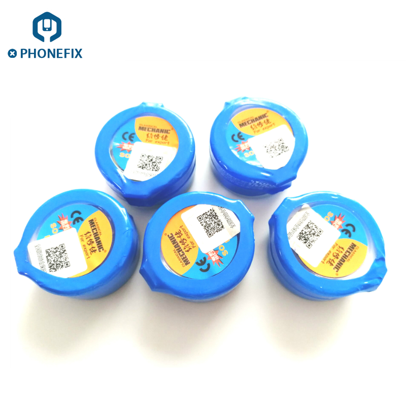 MECHANIC Solder Paste Flux Sn63 Pb37 For Soldering Iron Station High Quality Flux Paste For Phone Motherboard Sodering