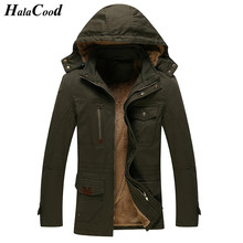 HalaCood 2017 Stylish Fashion High Quality Cotton Jacket Coats, Men Causal Hooded Jacket,Men Windbreaker Zipper Coats Outwear
