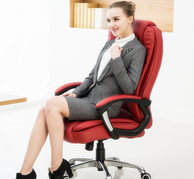 Modern Fashion Office Chair Multifunctional Leisure Lying Household Computer Chair Reclining Lifting Boss Swivel Chair computer chair can lie lifting boss chair leather swivel chair