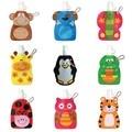 360 ml Eco Friendly Dobrável Animal Dos Desenhos Animados Garrafa de Bebida Garrafa de Viagem Segura para As Crianças Presente Das Crianças