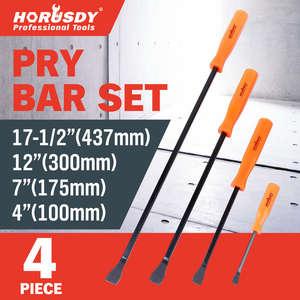 Bar-Set-Tool Hand-Tool-Set Nail-Puller-Chisel Crowbar 4pcs Strike-Cap Remover-Removal