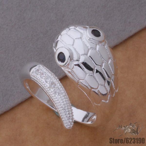 75ee17900270 ٩( ‿ )۶AR362 anillo de la plata esterlina 925