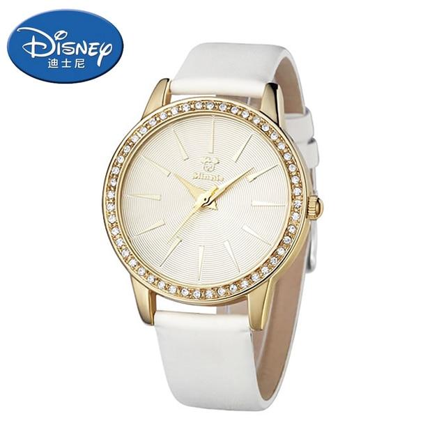 Genuine Disney Kids Watch girl Watch Fashion Cool Cute Quartz Wristwatches luxur