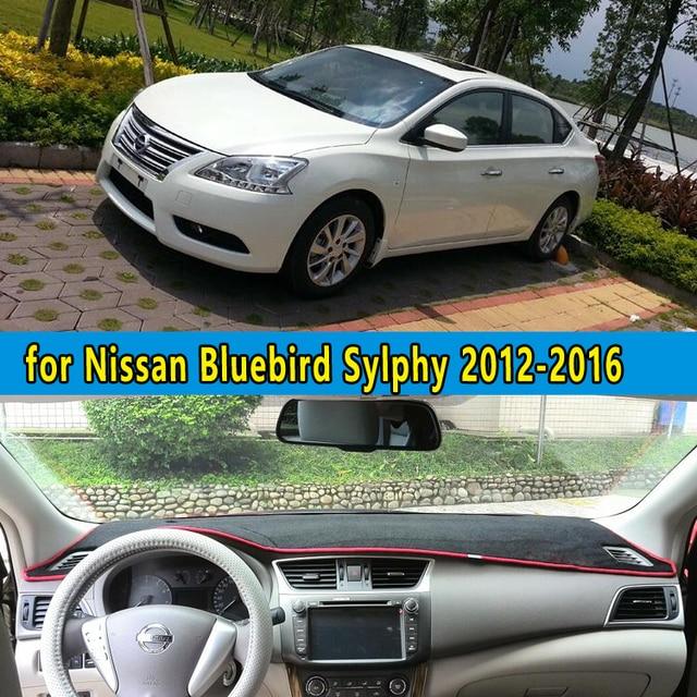 Dashmat Carpet Car Dashboard Covers Accessories For Nissan Bluebird Sylphy Sentra B17 2012 2013
