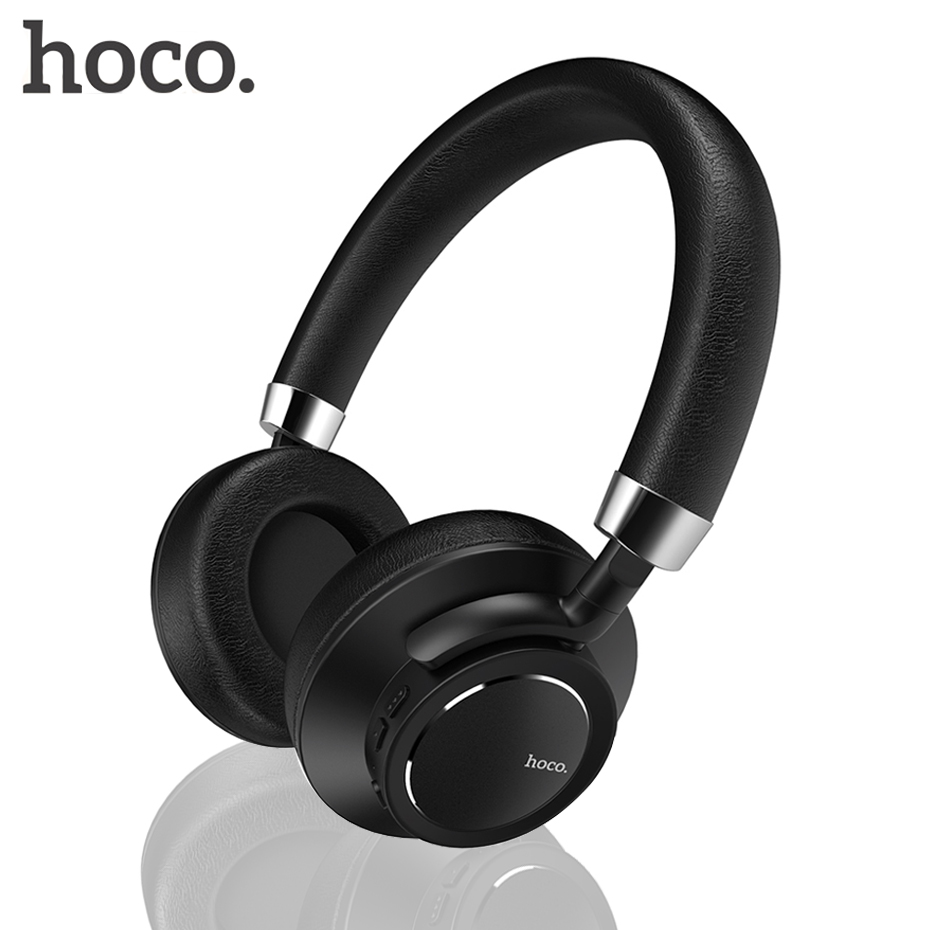HOCO Original bluetooth headphones with microphone wireless headset bluetooth Gamer Music PC for Iphone Samsung Xiaomi headphone bluedio t4 original wireless headphones portable bluetooth headset with microphone for iphone htc samsung xiaomi music earphone