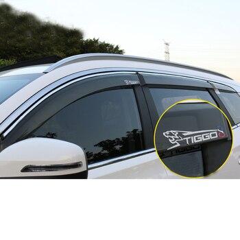 Lsrtw2017 Injection Molding Car Window Rain Shield Sun Shield for Chery Tiggo 8 2018 2019 2020