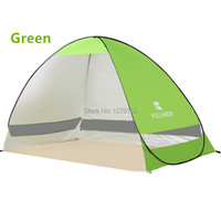 Outdoor Camping Hiking Beach Summer Tent Quick Open Pop Up Beach Awning Fishing Tent Opening Tent