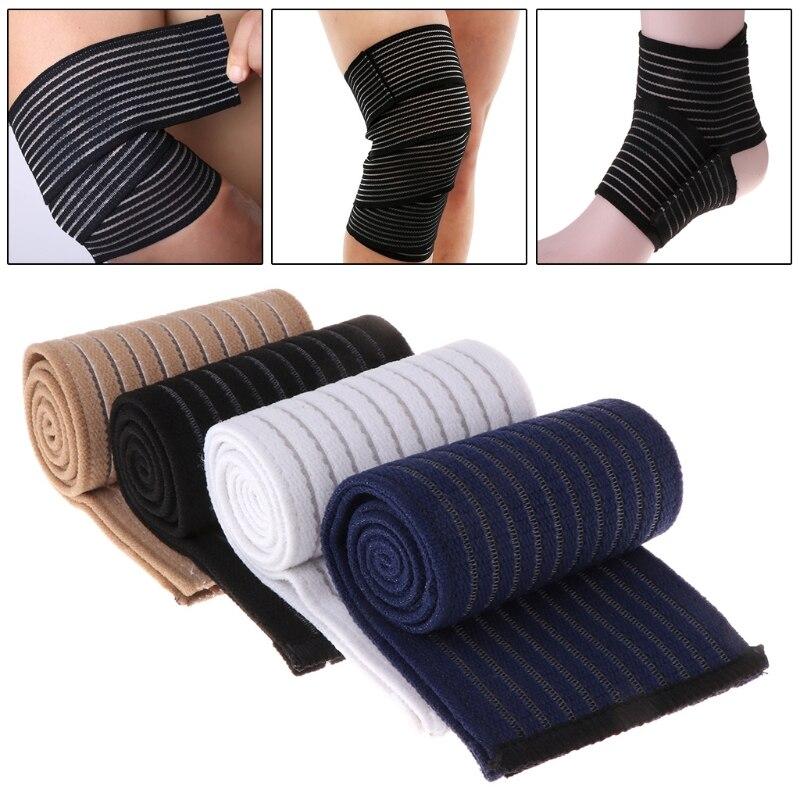 Bandage Elbow Wrist Knee Shin Ankle Hand Support Wrap Brace Elastic Compression