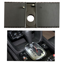 OEM AT Gearbox Shifter Cover Strip Shift Panel Prevent Dust Strip Blind For Continent Flying Spur GT 3W1 713 187 3W2 713 187