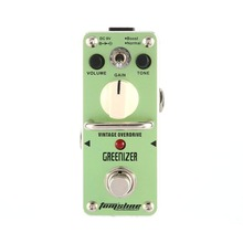 AROMA Tomsline AGR-3 GREENIZER Vintage Overdrive Mini Analogue Effect True Bypass