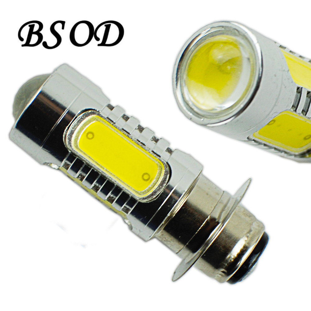 BSOD Motorcycle LED Light DC 12V 7.5W 400 LM 5 pcs COB Source 360 Degree Cool White Super Brightness