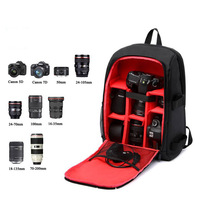Waterproof Digital DSLR Camera Bag Case for Sony A7SI A7SII ILCE 9 ILCE 6000 ILCE 7R ILCE 7 ILCE 7S Photography Photo Backpack