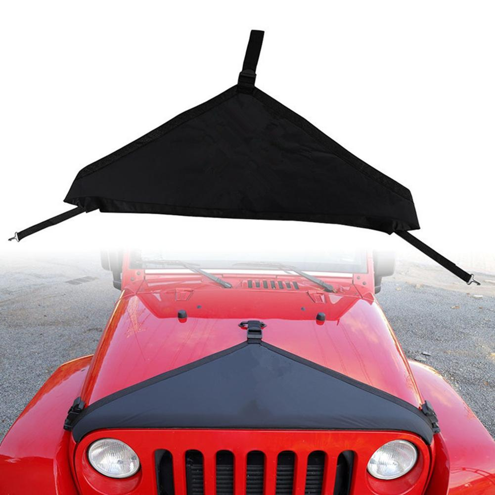 Canvas Engine Hood for Jeep Wrangler TJ 1997 2006 Engine Exterior Cover Protector Car Accessories|Car Covers| |  - title=