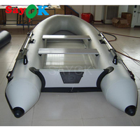 3.6m New 6 person hard inflatable drifting boat high quality fishing boat rubber boat sand troopers ship