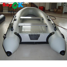 New 6 person hard inflatable drifting boat high quality fishing boat rubber boat sand troopers ship