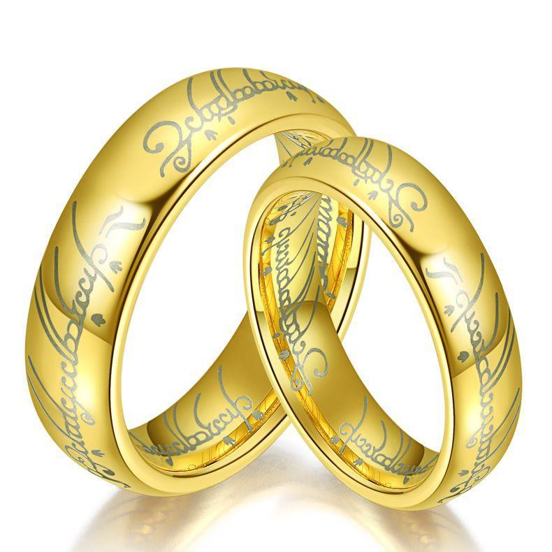 Whole Warcraft Alliance Anium Steel Wedding Bands S Rings Sets For Men And Women Jewellery Vintage Gift 1 Pair In From Jewelry
