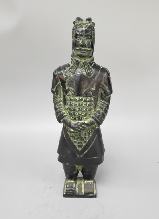 Chinese collection Terra Cotta Warriors soldier StatueChinese collection Terra Cotta Warriors soldier Statue
