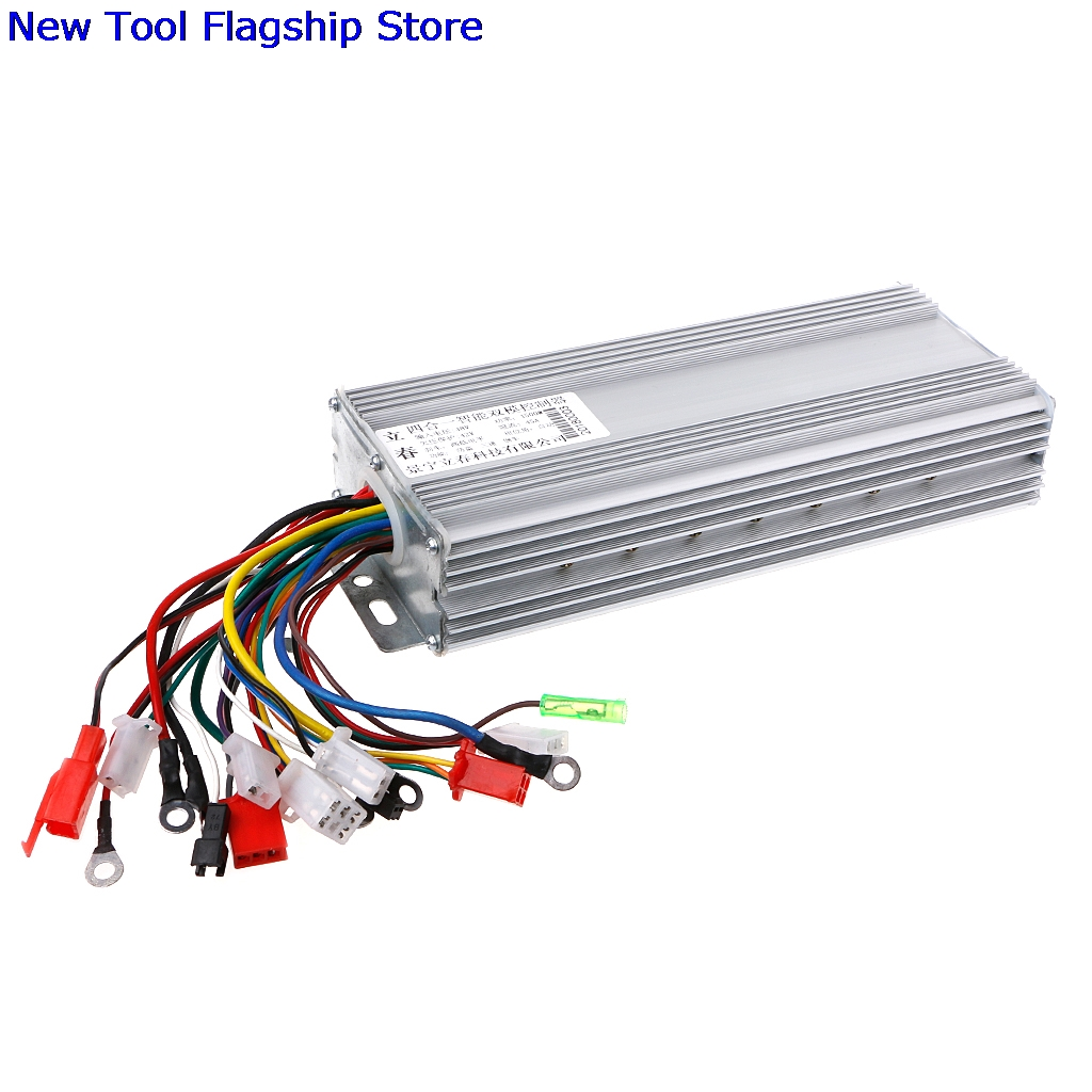 hight resolution of dc 48v 1500w electric bicycle e bike scooter brushless motor speed controller