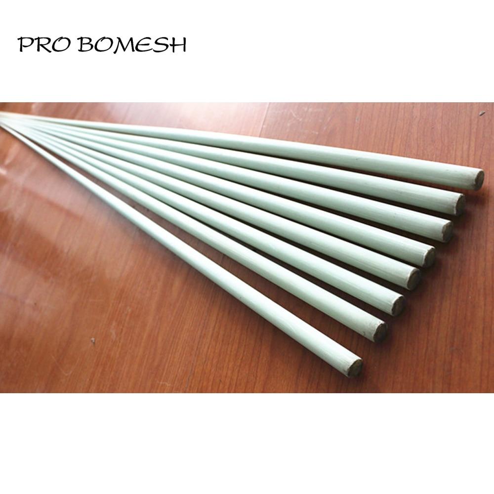 Pro Bomesh 2PCS Lot 1 89M 26 4LB 52 8LB 1 Section Solid Fiber Glass Boat