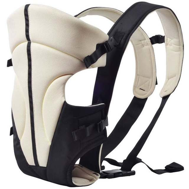 Multipurpose Portable Ventilate Adjustable Buckle Stick Baby Carrier Backpack
