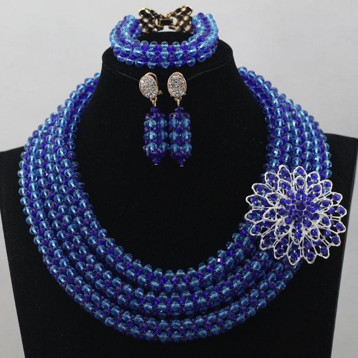 Aliexpresscom Buy Handmade Beaded Nigerian Wedding Jewelry Set