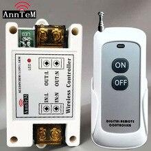 ANNTEM משלוח חינם 110 V 220 V מנורת משאבת מנוע משאבת שמן LED ארוך מרחק אחד דרך גבוהה כוח 3000 W שלט רחוק מתג